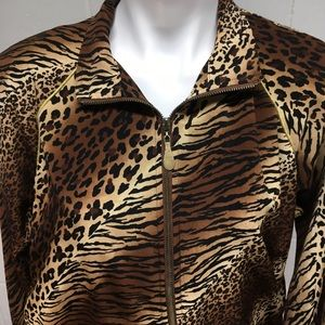 Teddi Jackets & Coats - Vintage Animal Print Jacket